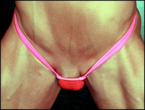 Male panty male to female transformation design by koalaswim.com bulge wear too!